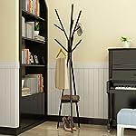 Bedroom Hanger Floor Wrought Iron Metal Minimalist Modern Branches Home Creative Coat Rack