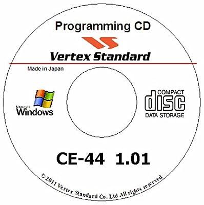 Vertex Standard Ce-44 Programming Software V2.0
