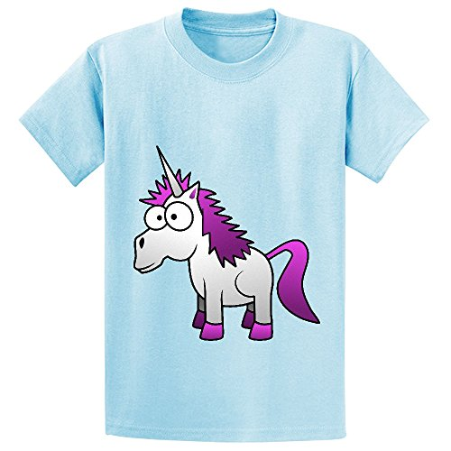 Sinestro Child Mask (Andy Unicorn Cute Youth Crew Neck Graphic T Shirt L-blue)