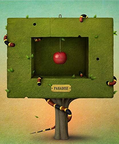 Puzzle 1000 Pieza Clásico Madera Jigsaw Planta Verde Y Manzana Adulto Ocio Crucigrama Juego Niño Juguete Moderno Arte Decoracion: Amazon.es: Hogar