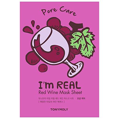 TONYMOLY I'm Real Red Wine Sheet Mask