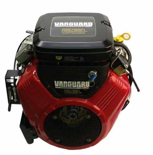 386447-3079 23hp Vanguard, Horizontal 1'' x 2 29/32'' Shaft, Electric Start, FP, Oil Filter Cooler, Key Switch Briggs Stratton Engine by Briggs & Stratton
