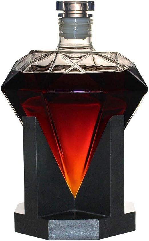 TRPYA Botella de Whisky - Decanter for el Ron, Bourbon ...