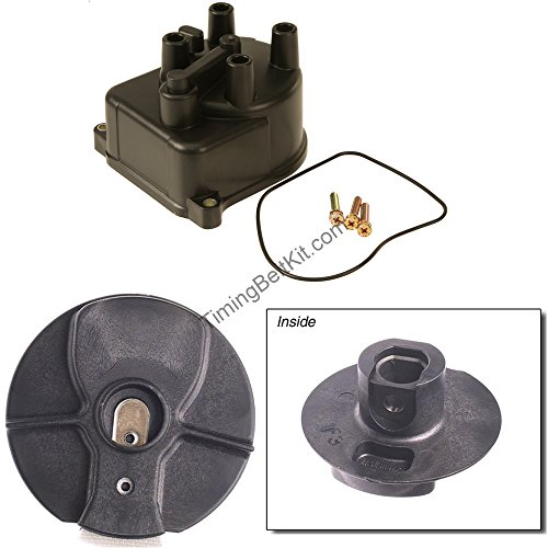 Distributor Cap Rotor Set - Yec Distributor Cap and Rotor Set/Kit Fits 1996-2001 Acura Integra GS LS RS Honda Accord 4 cyl non-vtec 1998-2002 1992-2000 Honda Civic dx lx cx ex Honda crv 1997-2001
