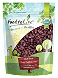 Organic Dark Red Kidney Beans — Non-GMO, Kosher, Raw, Dry Seeds, Bulk (by Food to Live) 3 Pounds