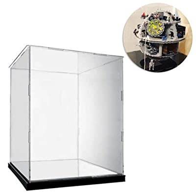 PeleusTech Acrylic Dustproof Display Box Show Box Show Case with Turf for Lego Death Star 75159 (Display Box Included Only, No Lego Kit): Sports & Outdoors