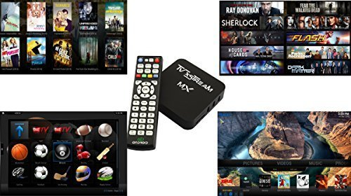 TV xStream MX Android TV BOX - Fully Loaded - Watch Anything (Android Xbmc Tv Box compare prices)