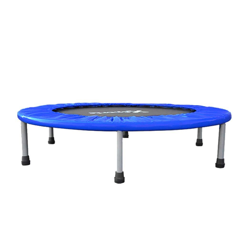 Trampoline Erwachsene Gymnastik Haushalt Praktische Lagerung Kann 100 kg tragen (Farbe : Blau, Größe : Diameter 100  22cm)