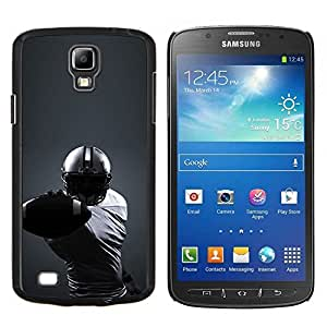 Stuss Case / Funda Carcasa protectora - Minimalista fútbol - Samsung Galaxy S4 Active i9295