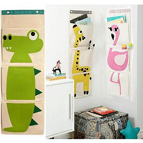 UXTIS Innovative Wall Behind The Door Storage Bags,Assorted Color, c