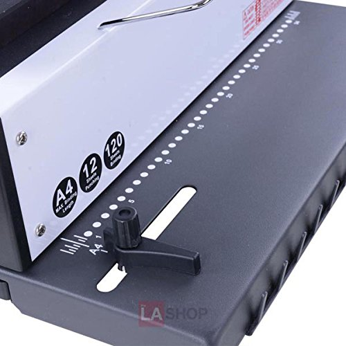 34 Round Hole Spiral Coil Punching/Binding Machine