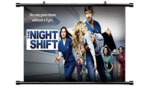 The Night Shift TV Wall Scroll Poster (32x18) - Night Shift Tv Show Dvd