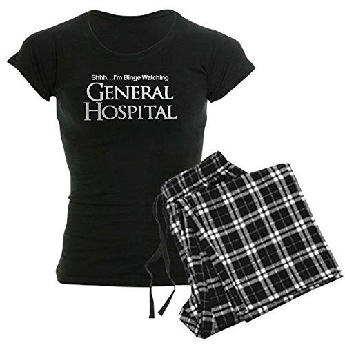 CafePress General Hospital Shhh Binge Womens Novelty Cotton Pajama Set, Comfortable PJ Sleepwear