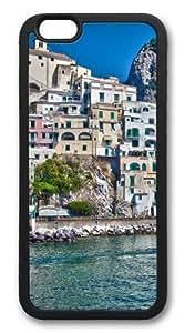 Amalfi Custom iPhone 6 Case Cover TPU Black