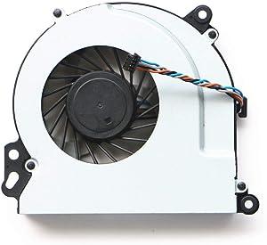 SWCCF CPU Fan for HP Envy 17-J010US 17-J011NR 17-J013CL 17-J017CL 17-J020US 17-J021NR 17-J023CL 17-J027CL 17-J029NR 17-J030US 17-J034CA 17-J037CL 17-J040US 17-J041NR 17-J140US 17-J141NR 17-J050US