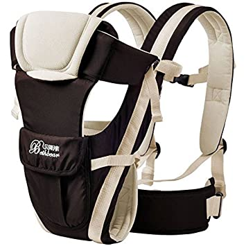 bd11db350b2 Amazon.com   2-30 months baby carrier backpack Breathable multifunctional new  ergonomic baby sling Front Facing kangaroo baby bag infant wrap   Baby