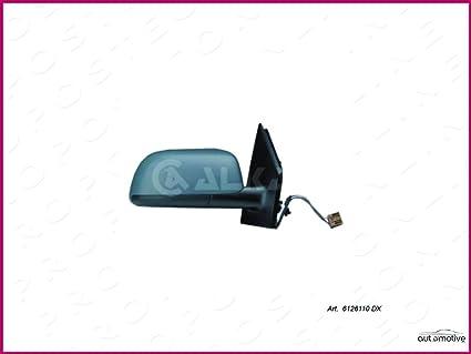 Espejo retrovisor derecho negro eléctrico 24710: Amazon.es: Coche ...
