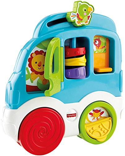 [Fisher-Price Animal Friends Discovery Car] (Fisher Price Car Toy)