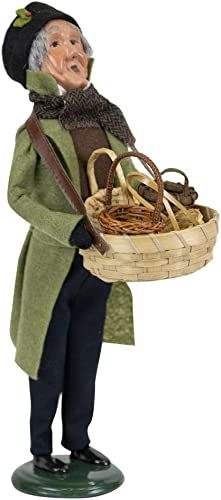 Byers Choice Man Selling Baskets Caroler Figurine from The Cries of London Collection 4322F New 2019