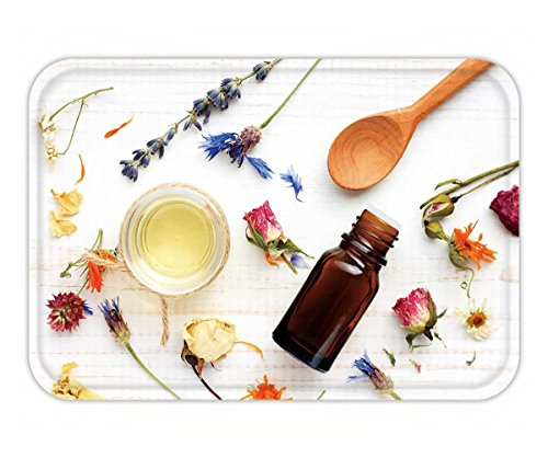 Iris Dropper (Beshowere Doormat essential oil medicinal plant mix herbal skincare ingredients top view aroma dropper bottle)