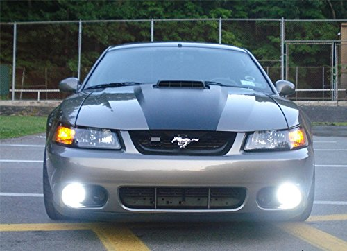 1999-2004 Ford Mustang GT SVT Cobra Body Fog Lamps Driving Lights - Front Ait Racing Bumper
