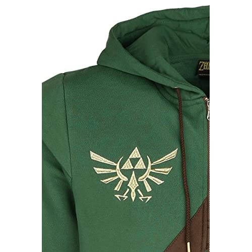 Bioworld - Sweat Cosplay Link The Legend of Zelda (Homme) - M chic