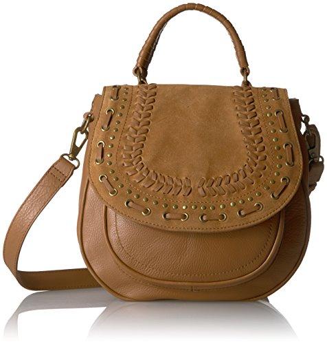 Lucky Kady Flap, dark camel (Brand Lucky Flap Bag Body Leather Cross)