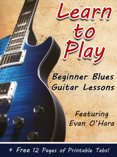 Guitar Play Lesson Blues (Learn How to Play Blues Guitar - Covers 10 Songs & Lessons)
