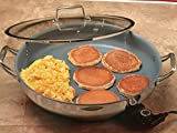 Chefs Nonstick Stainless Steel Electric Skillet - 16''