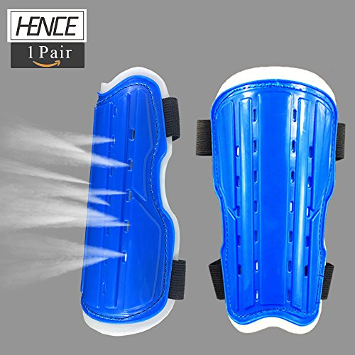 HENCE Soccer Shin Guards For Youth And Kids Shin Pad Protective Gear Football Guard Board Perfect Fit for 6-12 Years Old Boys And Girls
