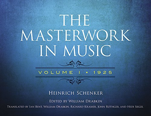 The Masterwork in Music: Volume I, 1925 (Dover Books on Music and Music History)