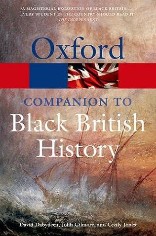 book cover of The Oxford Companion to Black British History