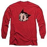 Astro Boy Face Mens Long Sleeve Shirt