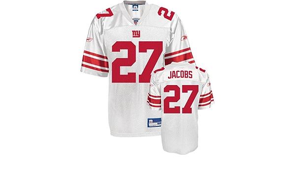 Amazon.com: New York Giants Brandon Jacobs #27 NFL Mens Replica ...