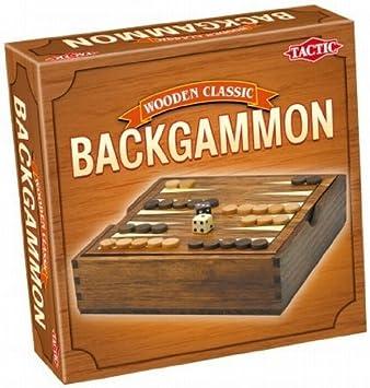 Tactic Backgammon Niños y Adultos Estrategia - Juego de Tablero (Estrategia, Niños y Adultos, 10 min, Niño/niña, 7 año(s), 99 año(s)): Amazon.es: Juguetes y juegos