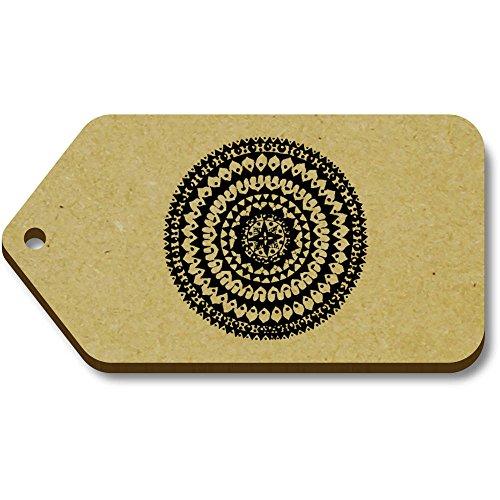 Regalo Etiquetas X 34mm 10 Azeeda tg00068955 66mm 'mandala Abstracta' equipaje U8aYUn6OA