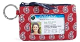 Vera Bradley Zip ID Wallet Coin Purse Case in Petite Red Bandana Paisley