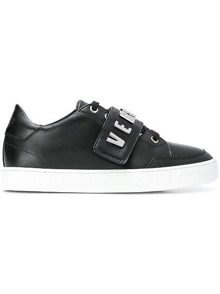 21e34ffc2a6bd Versus Versace Sneakers Donna Fsx042cfvlnf460n Pelle Nero  Amazon.it ...