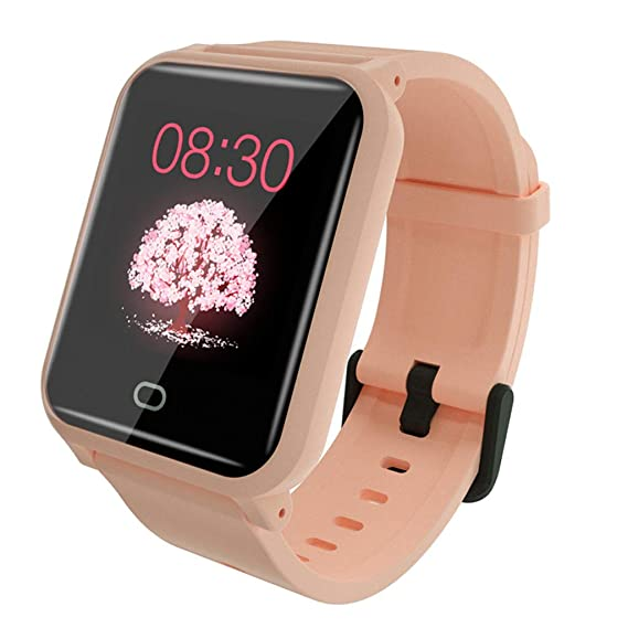 CAOQAO Smart Watch Android iOS Deportes Fitness Calorías Pulsera ...