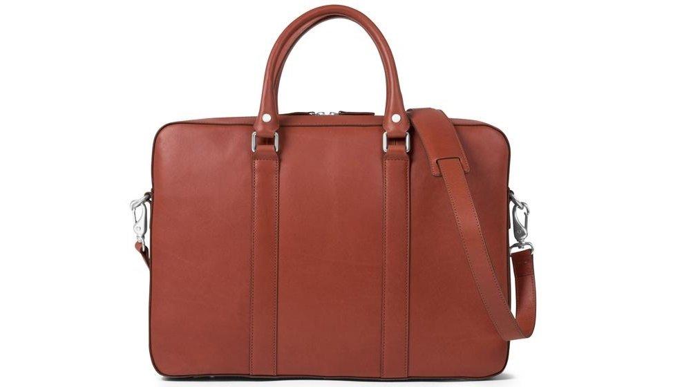 Cayman & Co. Spectre Briefcase (Cognac)