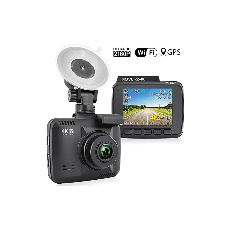 Rove R2-4K Dash Cam Built in WiFi GPS Ca