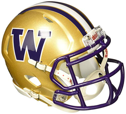 NCAA Washington Huskies Speed Mini Helmet