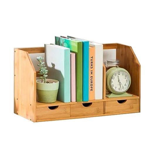 Estantería de lectura en la mesa Bastidor de almacenamiento de ...