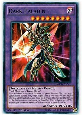 Dark Paladin Common 1st Edition YGLD-ENC41 Yugioh