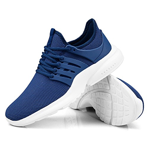 Image result for Troadlop Men's Running Sneakers Fashion Breathable Sneakers Lightweight Casual Walking Shoes
