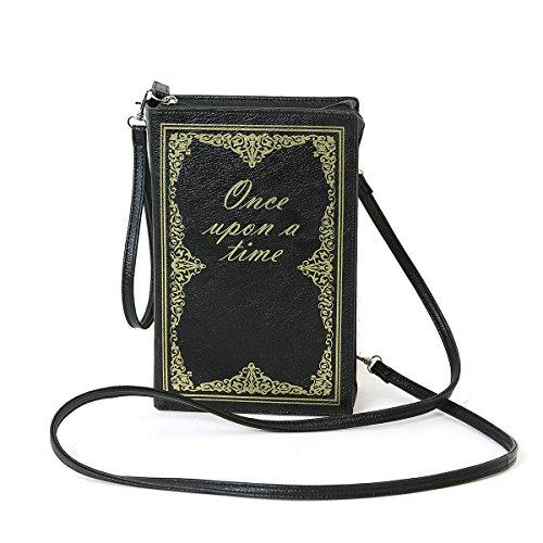 Vintage Hard Bound Story Book Clutch Shoulder Bag ()