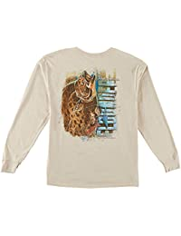 "<span class=""a-offscreen"">[Sponsored]</span>Mens Flounder Long Sleeve T-Shirt"