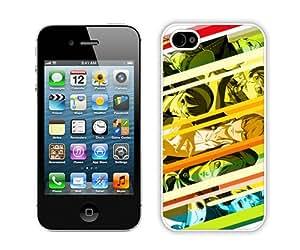 Unique iPhone 4 4S Persona 4 White Screen Phone Case Fashion and Popular Design