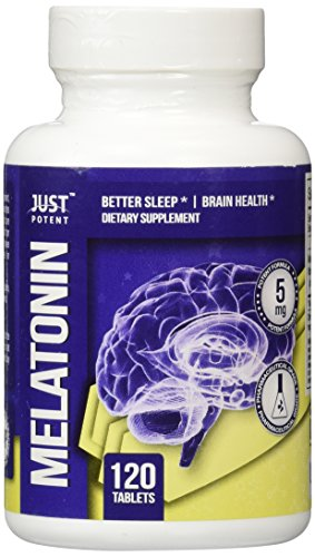 ❶ Pharmaceutical Grade Melatonin by Just Potent :: 5mg Tablets :: Better Sleep :: Brain Health :: 120 Count :: Fast Acting and Non-Habit Forming Sleep Aid!