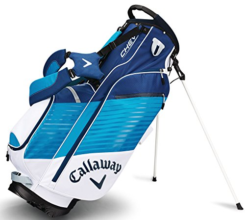 Callaway Golf Chev Stand Bag Stand Carry Golf Bag 2017 Chev White Teal Navy